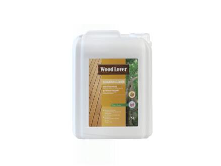 Wood Lover reiniger bangkirai 5l kleurloos