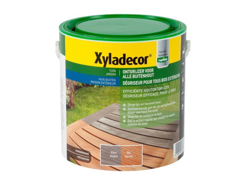 Xyladecor rénovateur bois extérieur 2,5l