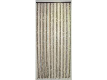 Confortex rideau de porte bois 90x200 cm