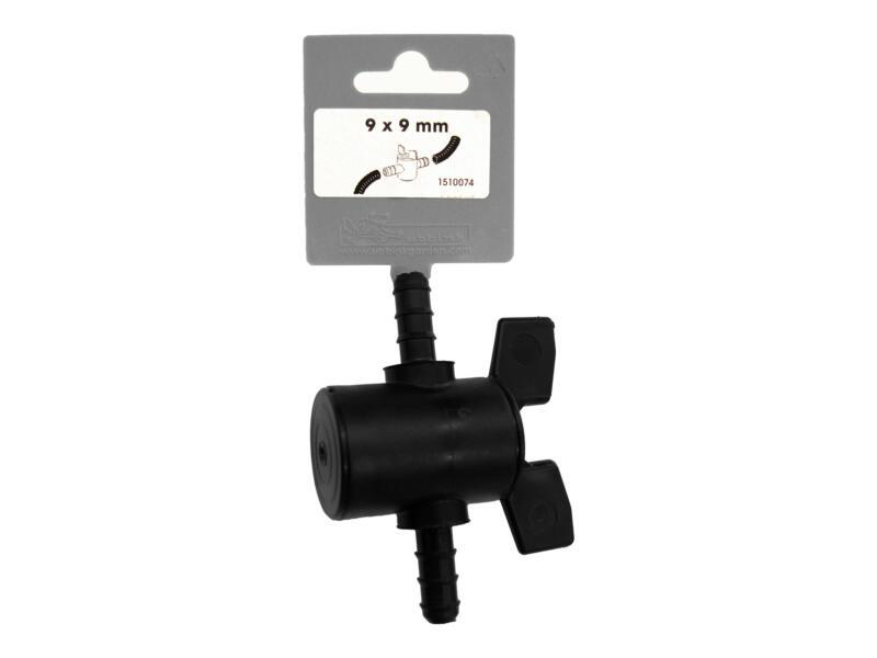 robinet d'arrêt pour tuyau  9mm