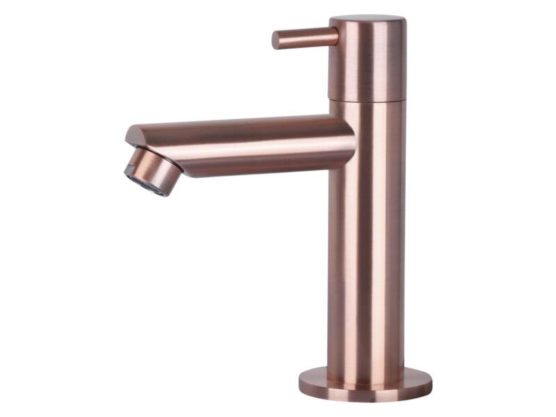 Differnz robinet d'eau froide droit noir cuivre