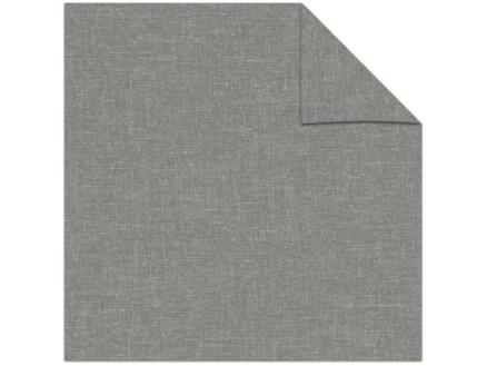 Decosol rolgordijn lichtdoorlatend 150x190 cm structuur grijs