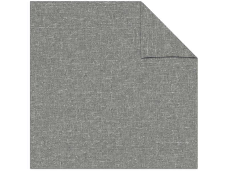 Decosol rolgordijn lichtdoorlatend 210x190 cm structuur grijs
