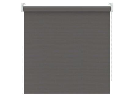 Decosol rolgordijn verduisterend 180x190 cm linnenlook antraciet