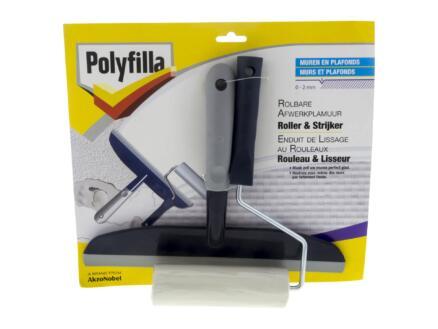 Polyfilla roller + strijker