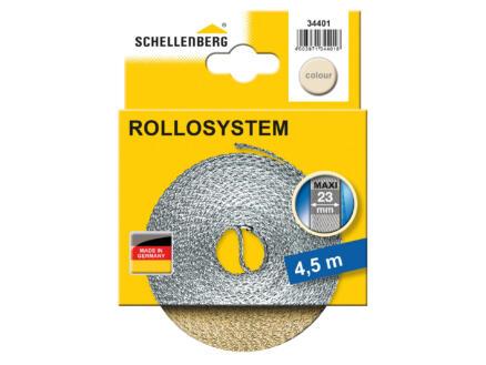 Schellenberg rolluiklint 23mm 4,5m beige