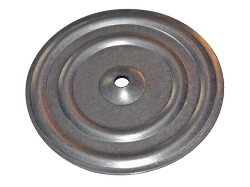 Smart ronde isolatieplaatjes 6x50 mm nylon 250 stuks