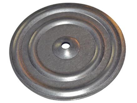 Smart ronde isolatieplaatjes 8x70 mm verzinkt staal 100 stuks