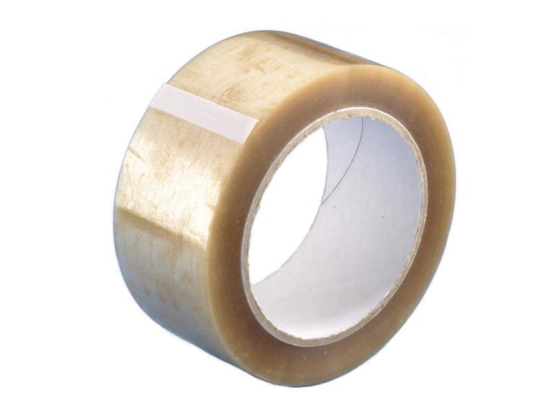 Mottez rouleau d'adhésif transparent 100m 48mm