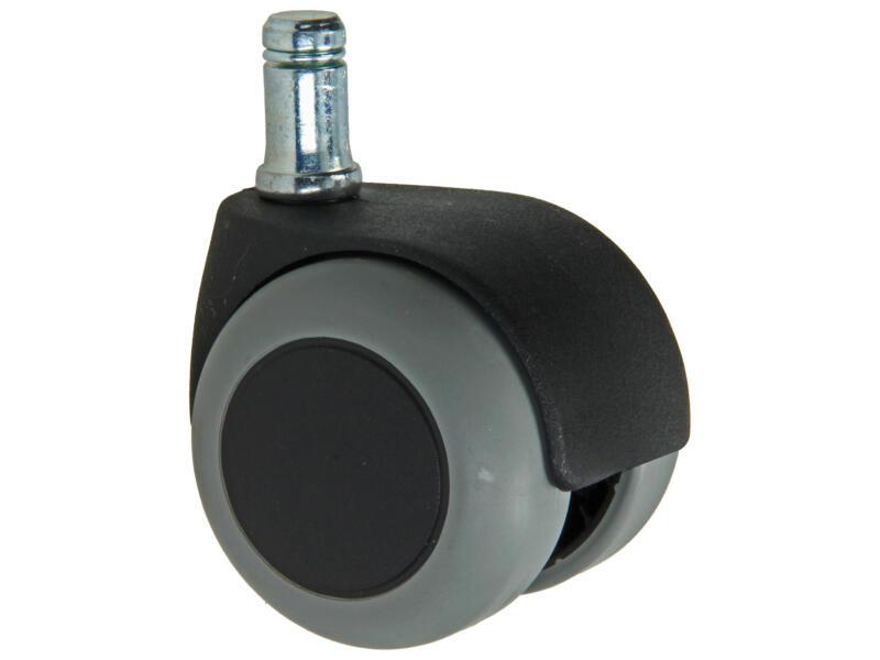 Tente roulette à frein pivotante 50mm tige