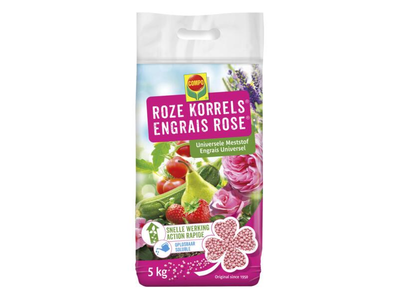 Compo roze korrels universele meststof 5kg