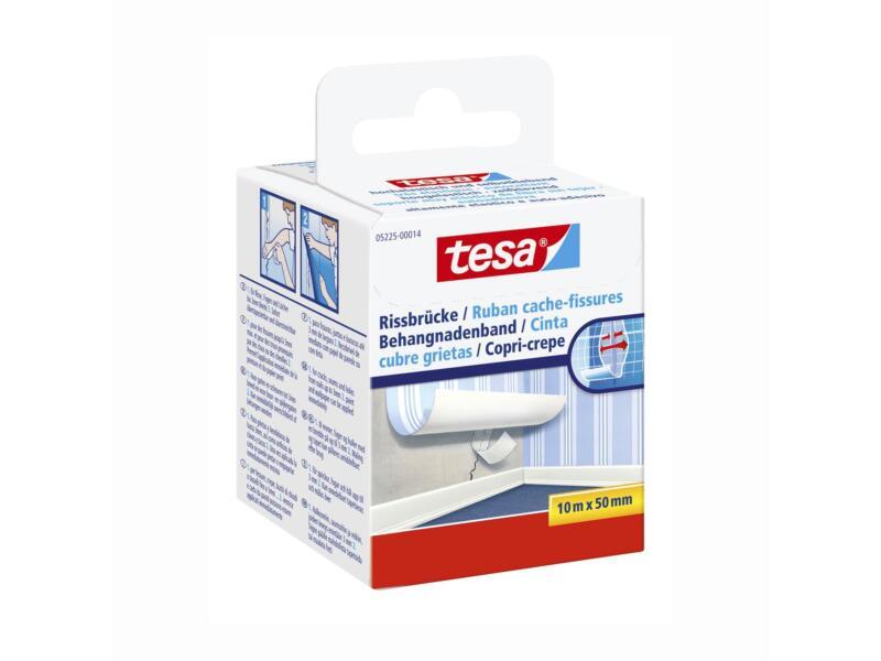 Tesa ruban cache-fissures 10m x 50mm blanc