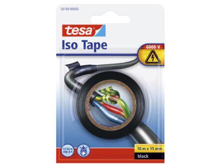 Tesa ruban d'isolation 10m x 15mm noir