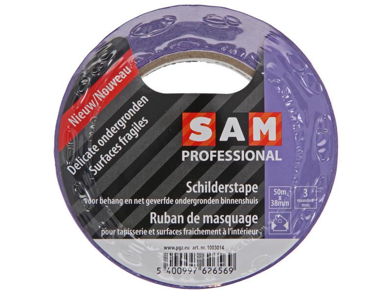 Sam ruban de masquage 50m x 38mm pourpre