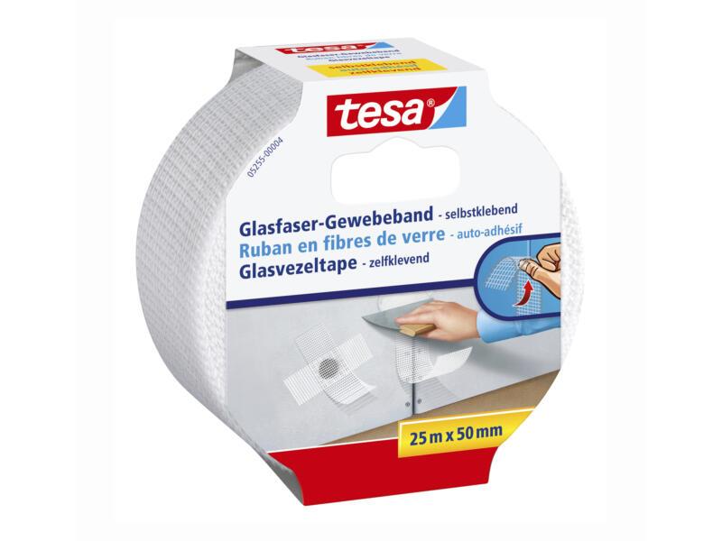 Tesa ruban en fibre de verre 25m x 50mm blanc