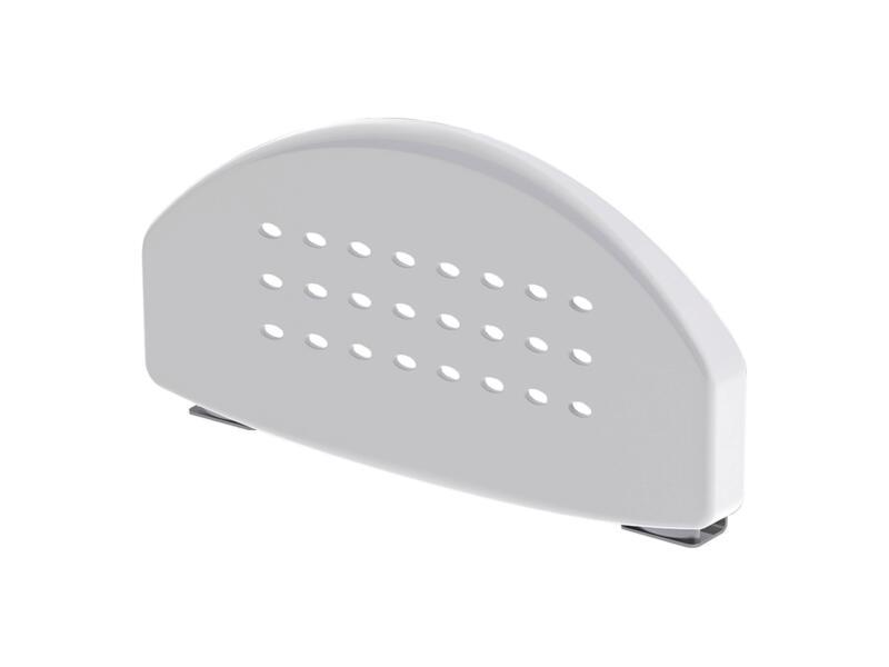 Secucare rugleuning voor douchestoel/zitje opklapbaar wit