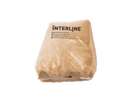 Interline sable filtrant 0,4/0,8 mm 25kg