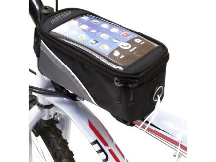Maxxus sacoche cadre vélo pour smartphone 18,5x8,5x8,5 cm
