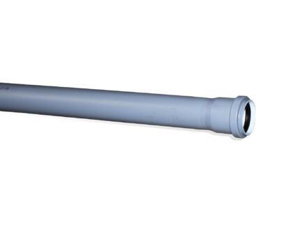 Scala sanitaire buis 50mm 2m polypropyleen grijs