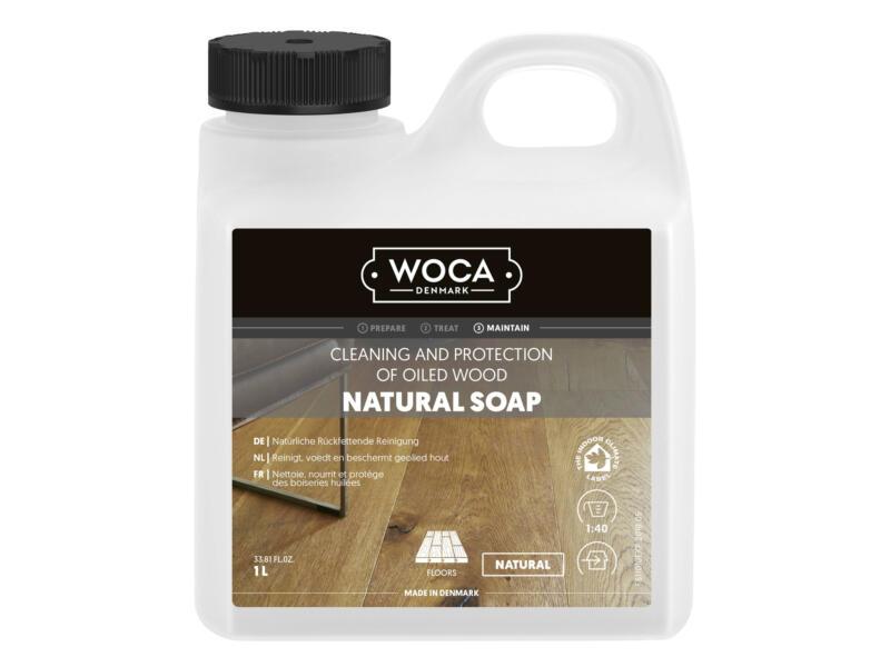 Woca savon naturel entretien parquet 1l naturel