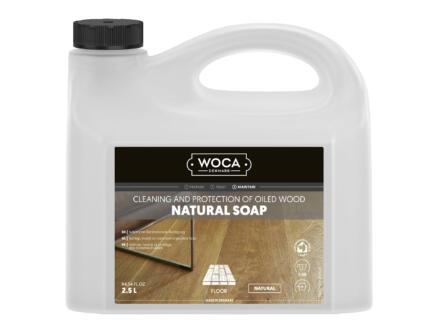 Woca savon naturel entretien parquet 2,5l naturel