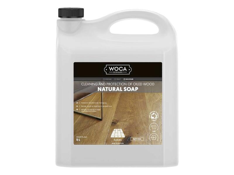 Woca savon naturel entretien parquet 5l naturel