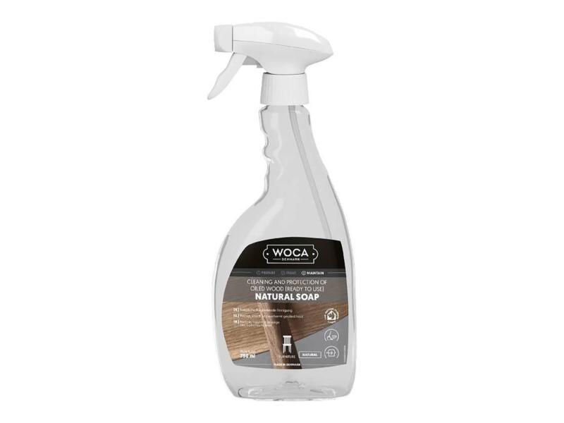 Woca savon naturel entretien parquet 750ml blanc