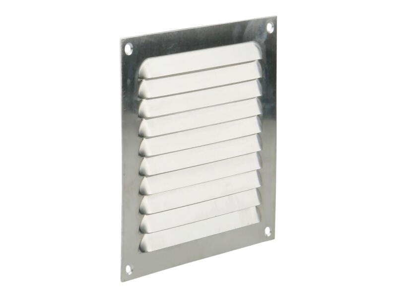 Renson schoepenrooster 150x150 mm aluminium