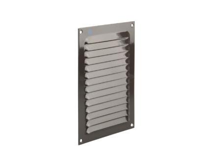 Renson schoepenrooster 150x200 mm aluminium grijs-bruin