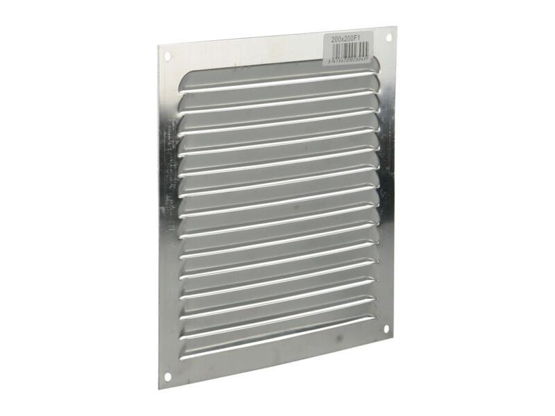 Renson schoepenrooster 200x200 mm aluminium