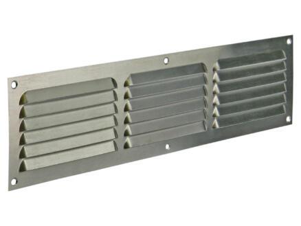 Renson schoepenrooster met kader 400x100 mm aluminium