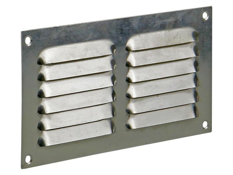 Renson schoepenrooster plat 100x200 mm aluminium