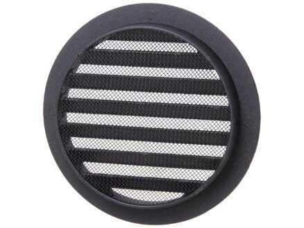 Renson schoepenrooster rond 125mm aluminium zwart