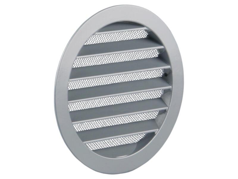 Renson schoepenrooster rond 150mm aluminium grijs
