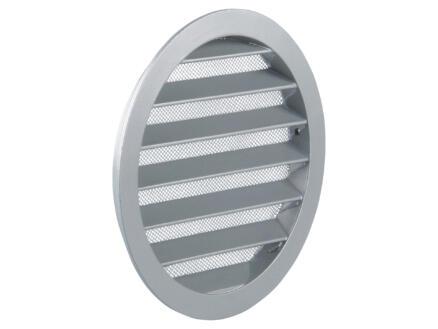 Renson schoepenrooster rond 160mm aluminium grijs