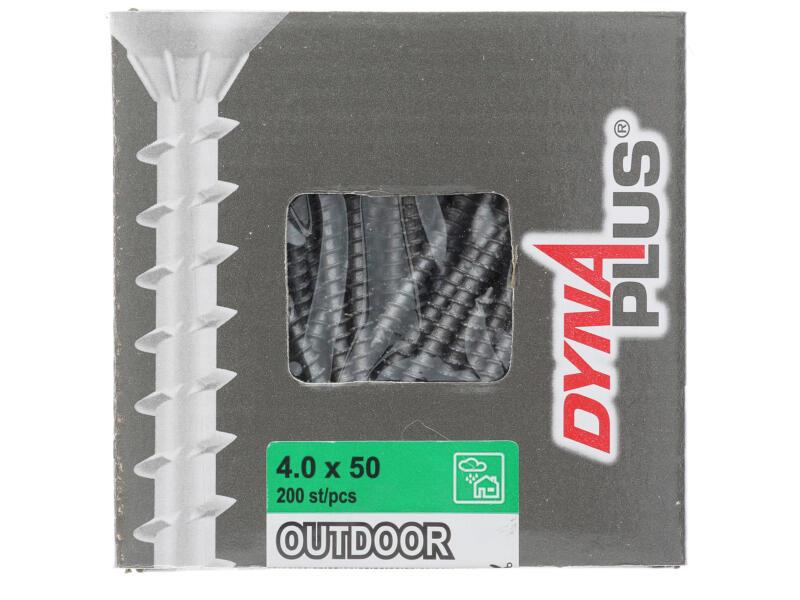Dynaplus schroef T25 50x4 mm 200 stuks