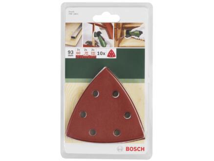 Bosch schuurpapier 93mm 10 stuks