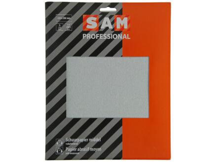 Sam schuurpapier K280 droog medium 5 stuks