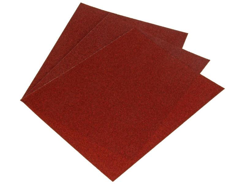 Sam schuurpapier K80 droog medium 3 stuks