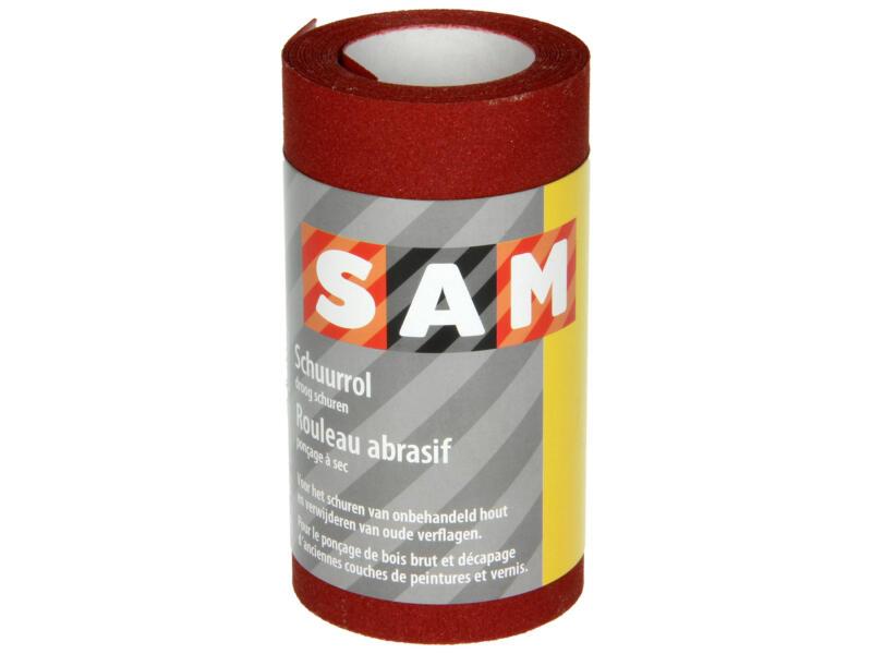 Sam schuurpapier op rol K120 4,5m