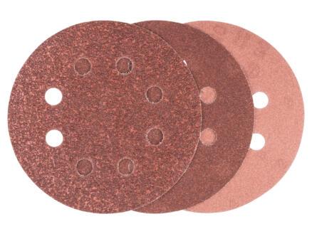 Bosch schuurschijf K60/K120/K240 125mm 6 stuks