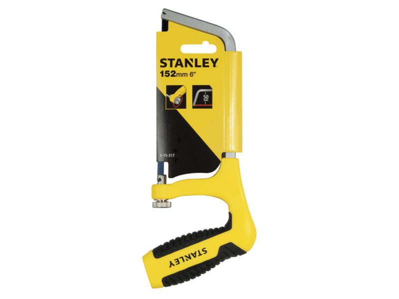 Stanley scie à métaux mini 15cm avec poignée revolver
