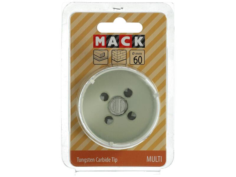 Mack scie-cloche TCT 60mm