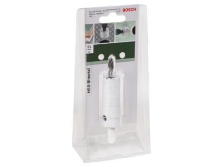 Bosch scie trépan HSS bimétal 22mm