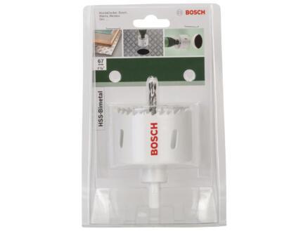 Bosch scie trépan HSS bimétal 67mm