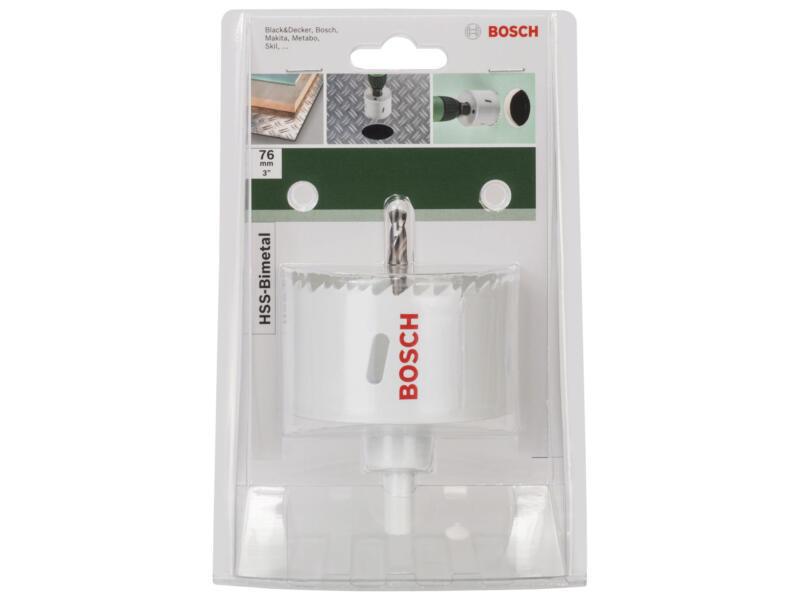 Bosch scie trépan HSS bimétal 76mm
