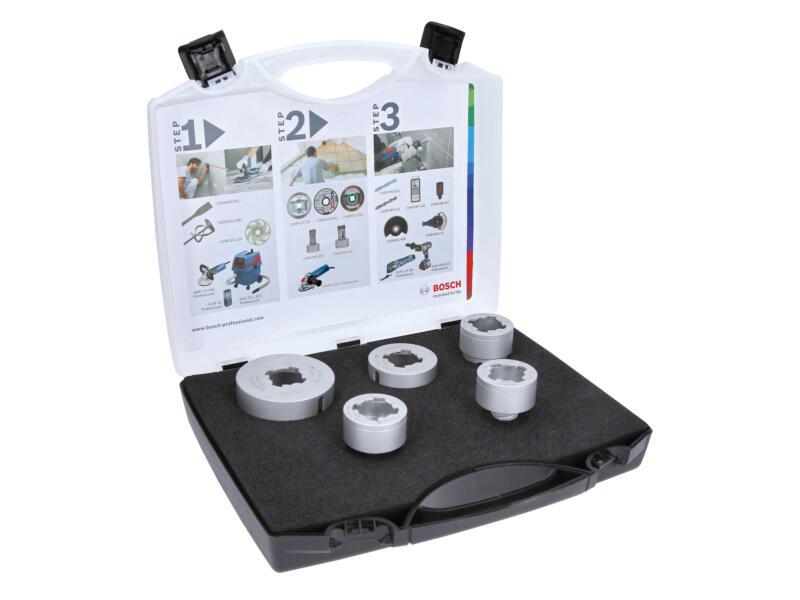 Bosch Professional scie trépan diamantée X-lock set de 5