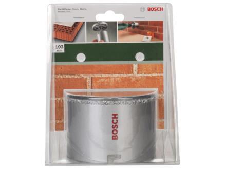Bosch scie trépan en carbure 103mm