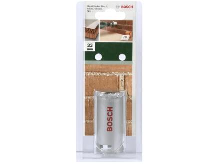 Bosch scie trépan en carbure 33mm