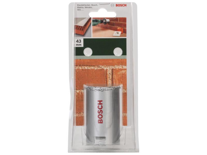 Bosch scie trépan en carbure 43mm